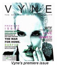 Blog 1 - Vyne Magazine's premiere issue