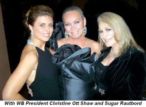 Blog 9 - With WB President Christine Ott Shaw and Sugar Rautbord