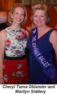 Blog 13 - Cheryl Tama Oblander and Marilyn Slattery