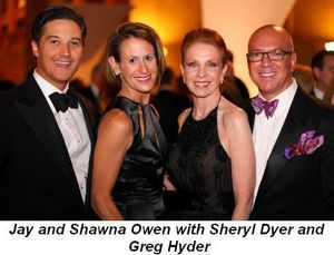 Blog 14 - Jay and Shawna Owen with Sheryl Dyer and Greg Hyder