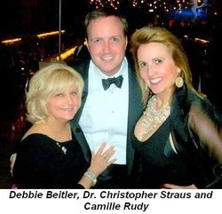Blog 15 - Debbie Beitler, Dr. Christopher Straus and Camille Rudy