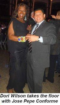 Blog 5 - Dori Wilson on the dance floor with Jose Pepe Conforme