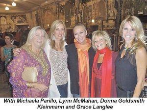 Blog 2 - Gown Elephant--With Michaela Parillo, Lynn McMahan, Donna Goldsmith Kleinman and Grace Langlee
