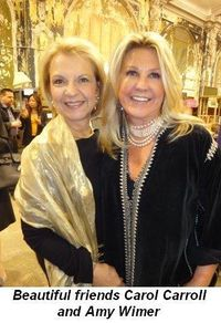 Blog 8 - Carol Carroll and Amy Wimer--beautiful friends