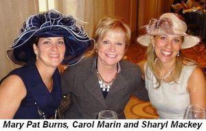 Blog 1 - Mary Pat Burns, Carol Marin and Sharyl Mackey