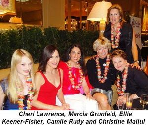 Blog 4 - Cheri Lawrence, Marcia Grunfeld, Ellie Keener-Fisher, Camille Rudy and co-chair Christine Mallul