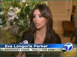 Blog 3 - Eva Longoria Parker—Honorary Rally Chair