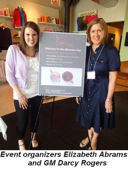 Blog 1 - Event organizers Elizabeth Abrams and GM Darcy Rogers