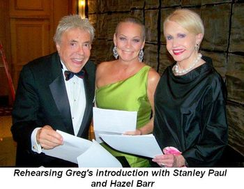 Blog 5 - Rehearsing with Stanley Paul and Hazel Barr for Greg's introduction