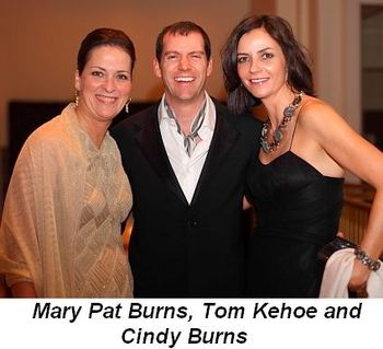 Blog 14 - Mary Pat Burns, Tom Kehoe and Cindy Burns