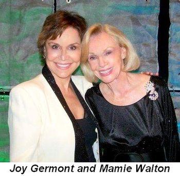 Blog 17 - Joy Germont and Mamie Walton