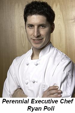 Perennial Executive Chef, Ryan Poli