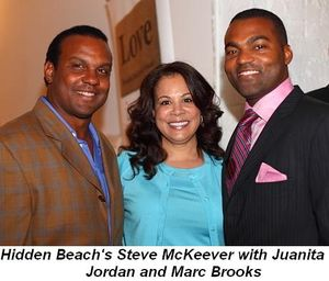 Blog 1 - Hidden Beach's Steve McKeever, Juanita Jordan and Marc Brooks