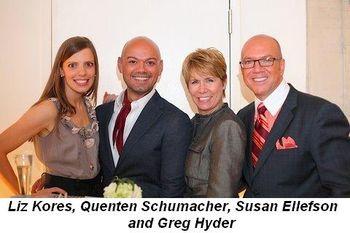 Blog 13 - Liz Kores, Quenten Schumacher, Susan Ellefson and Greg Hyder