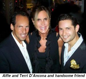 Blog 3 - Alfie and Terri D'Ancona and handsome friend