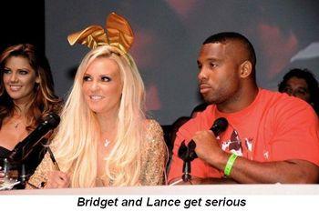 Blog 5 - Bridget and Lance get serious