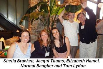 Blog 5 - Sheila Bracken, Jacqui Thams, Elizabeth Hamel, Norman Baugher and Tom Lydon