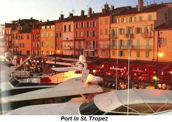 Port in St. Tropez