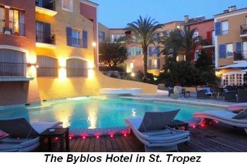 Blog 2 - The Byblos Hotel in St. Tropez