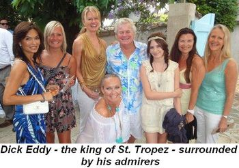 Blog 3 - Dick Eddy--the king of St. Tropez surrounded by his admirers