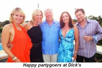 Blog 3a - Happy partygoers at Dick's