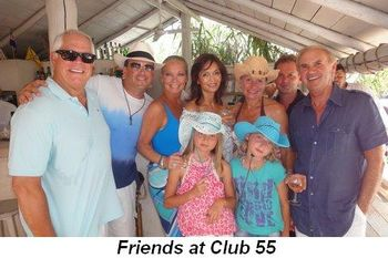 Blog 10 - Friends at Club 55
