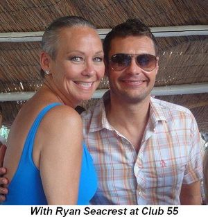 Blog 11 - With Ryan Seacrest at Club 55