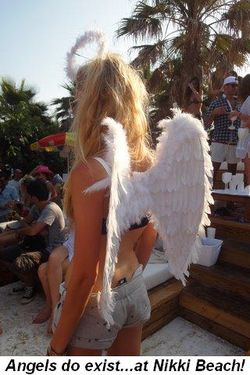 Blog 14 - Angels do exist--at Nikki Beach