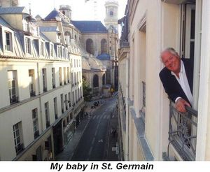 Blog 27 - My baby in St. Germain
