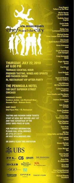 Chefs & the City Party