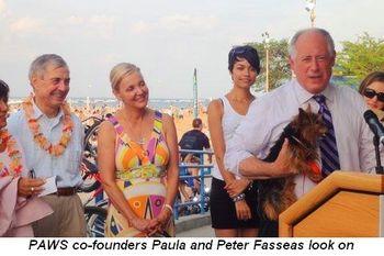 Blog 2 - Co-founders Paula and Peter Fasseas look on
