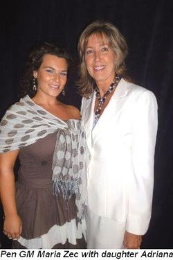 Blog 3 - Pen GM Maria Zec with daughter Adriana
