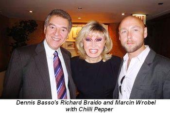 Blog 10 - Dennis Basso's Richard Braido and Marcin Wrobel with Chilli Pepper