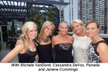 Blog 6 - With Michele VanDonk, Cassandra (Cassie) DeVos, Pamella (Roland) DeVos and Janene Cummings