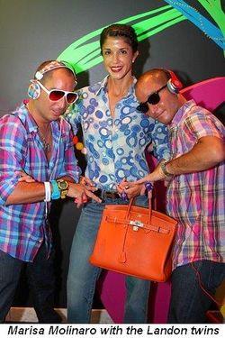 Blog 11 - Marisa Molinaro with the Landon twins