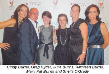 Blog 17 - Cindy Burns, Greg Hyder, Julia, Kathleen and Mary Pat Burns and Sheila O'Grady