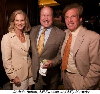 Blog 2 - Christie Hefner, Bill Zwecker and Billy Marovitz