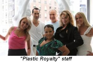 "Blog 3 - Plastic Royalty"" staff"