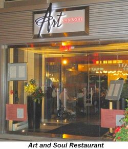 Blog 11 - Art & Soul Restaurant