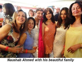 Blog 17 - Naushab Ahmed with his beautiful family