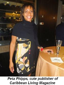 Blog 21 - Peta Phipps, cute publisher of Caribbean Living Magazine