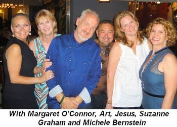 Blog 22 - With Margaret O'Connor, Art, Jesus, Suzanne Graham and Michele Bernstein