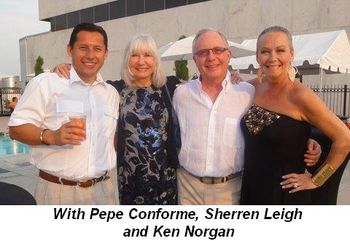 Blog 34 - With Pepe Conforme, Sherren Leigh and Ken Norgan