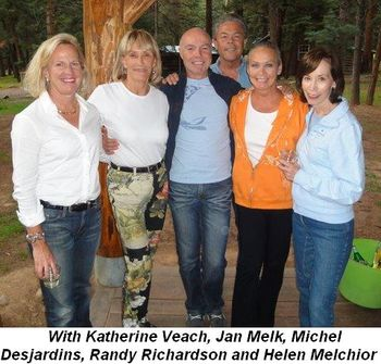 Blog 15 - With Katherine Veach, Jan Melk, Michel Desjardins, Randy Richardson and Helen Melchior