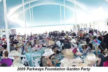 Blog 1 - 2009 Parkways Foundation Garden Party