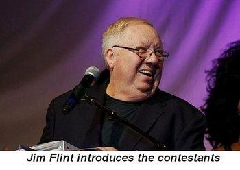 Blog 5 - Jim Flint introduces the contestants