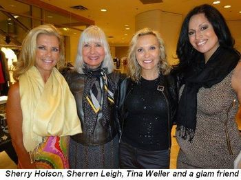 Blog 2 - Sherry Holson, Sherren Leigh, Tina Weller and glam friend
