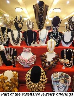 Blog 3 - Part of the extensive jewelry offerings