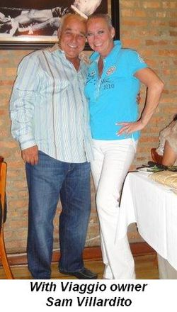 Blog 1 - With Viaggio owner, Sam Villardito