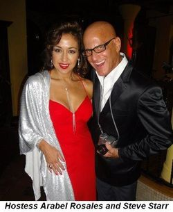 Blog 5 - Starrlight Hostess Arabel Rosales with Steve